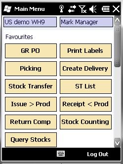 mobiel logistiek management