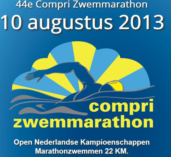 Compri Zwemmarathon 2013