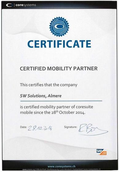 Coresuite Mobility partner